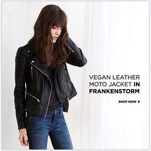Blanknyc frankenstorm vegan leather jacket